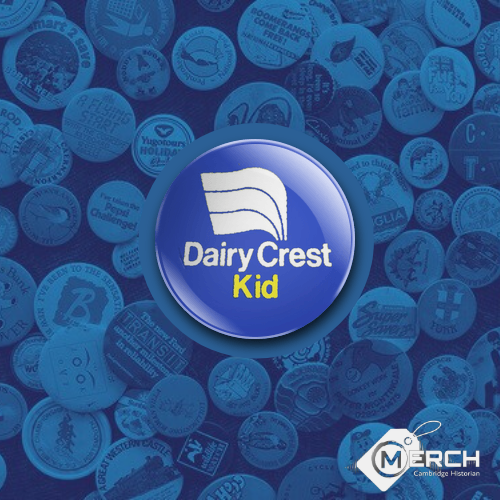 Dairy Crest Kid Badge