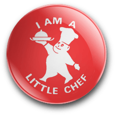 I Am A Little Chef Badge