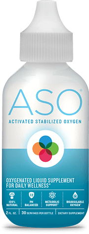 ASO Activated Stabilized Oxygen 60 ml