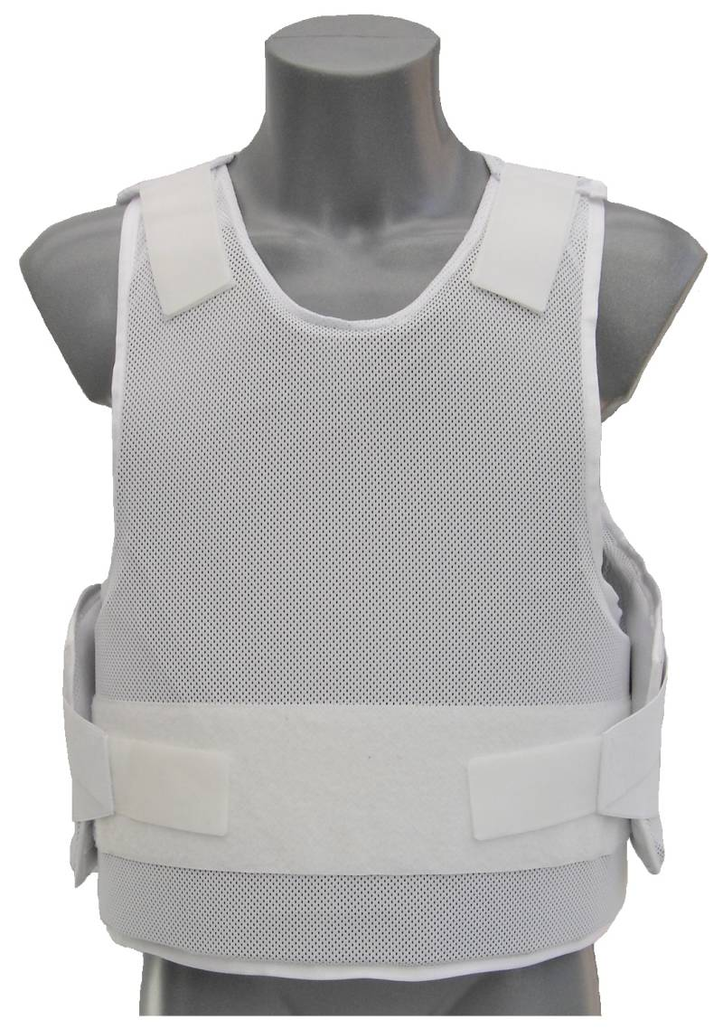 Deluxe blanc NIJ-3A (04) MT PRO Engarde gilet pare balle Large