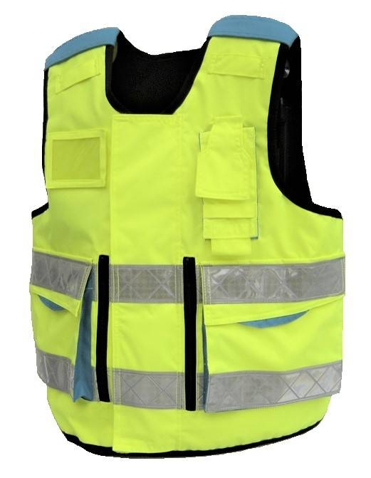 Fluo gilet pare-balles ambulance NIJ 3A / XSmall