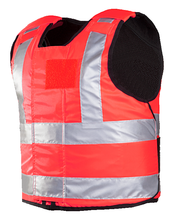Helios fluo rouge gilet pare-balles NIJ-3A 04 Small