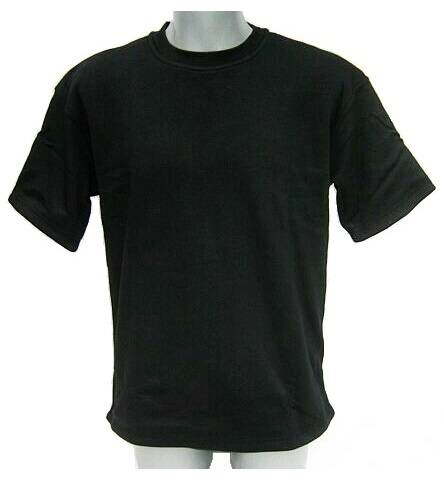 Tee shirt noir CCP-MC anti coupure VBR-Belgium / 3XLarge