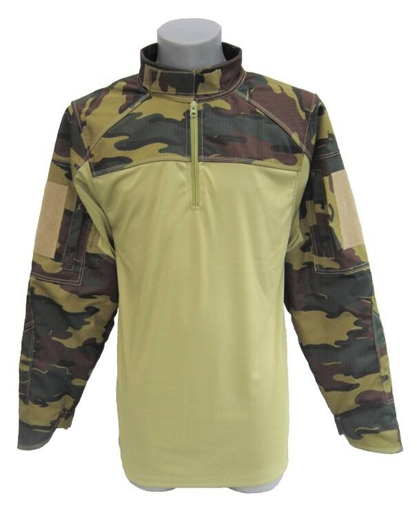 Chemise de combat anti coupure UBAS Woodland Medium