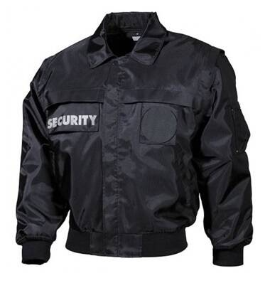 Veste sécurité noir SECURITY Medium