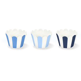 Cupcake wrappers - Blauw