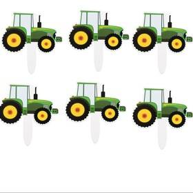 Cupcake Prikkers - Tractor