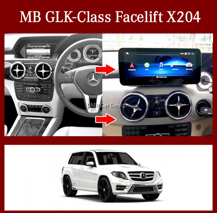 """Android Screen 10.25"""" / 12.3""""  For MB GLK-Class X204 Facelift [PRO000302]"""