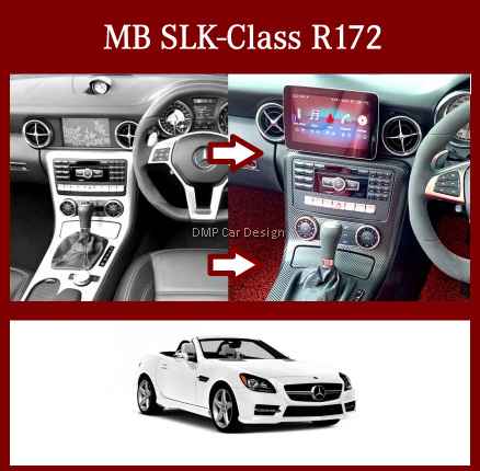"""Android Screen 9"""" For MB SLK-Class R172 [PRO000309]"""