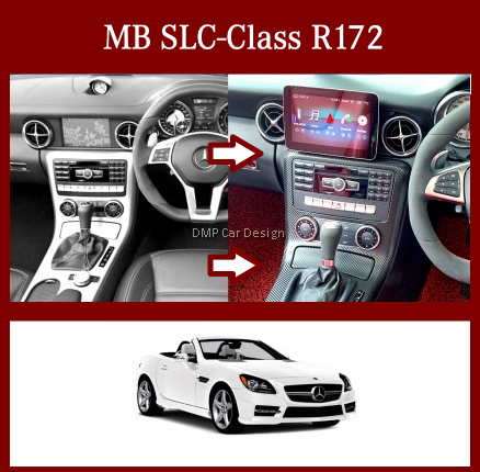 """Android Screen 10.25"""" For MB SLC-Class R172 [PRO000312]"""