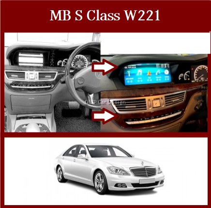 """Android Screen 10.25"""" For MB S Class W221 [PRO000315]"""