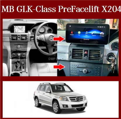 """Android Screen 10.25"""" / 12.3""""  For MB Glk-Class Pre Facelift X204 [PRO000303]"""