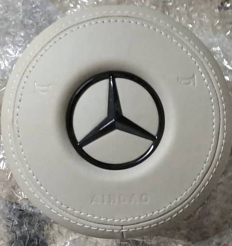 Aftermarket AMG Airbag Leather Wrapped [PRO000506]
