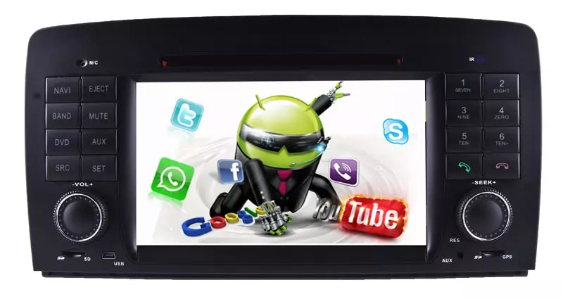 """Hualingan 7"""" Head Unit Android 10 With Dvd [PRO000614]"""