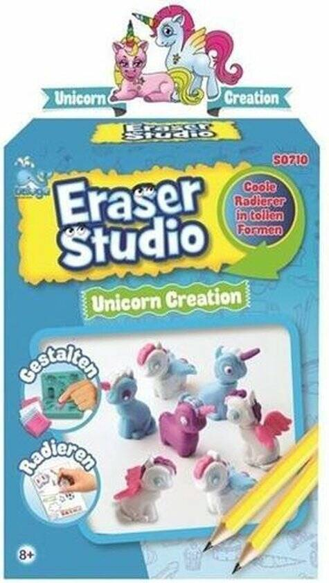 Beluga Eraser Studio Unicorn Creation 15x27cm