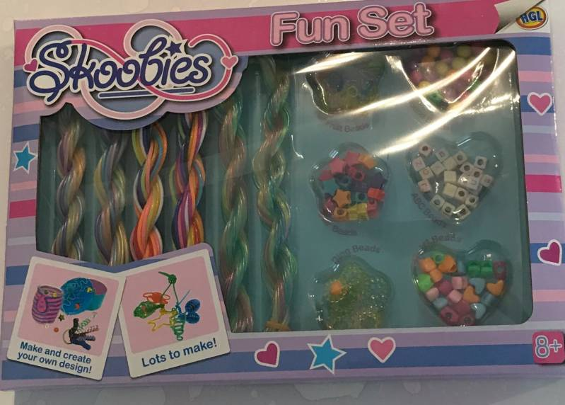 skoobies fun set in display 20 x 29 cm