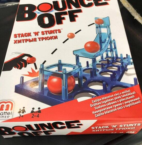 Mattel Games stuiteren Stack 'N' Stunts Game