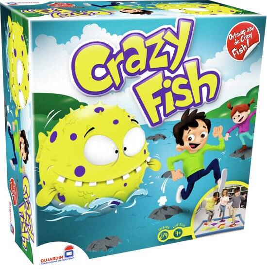 crazy fish  gezelschapspel