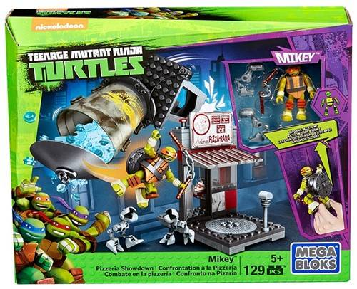 Mega Bloks TMNT Mikey Pizzeria Showdown