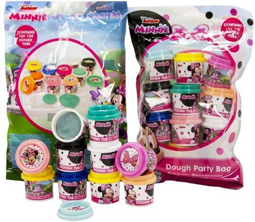 Minnie Mouse Dough Party Bag + 10 potjes 4,5cm