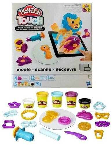 Touch Shape and Style 5 potjes klei