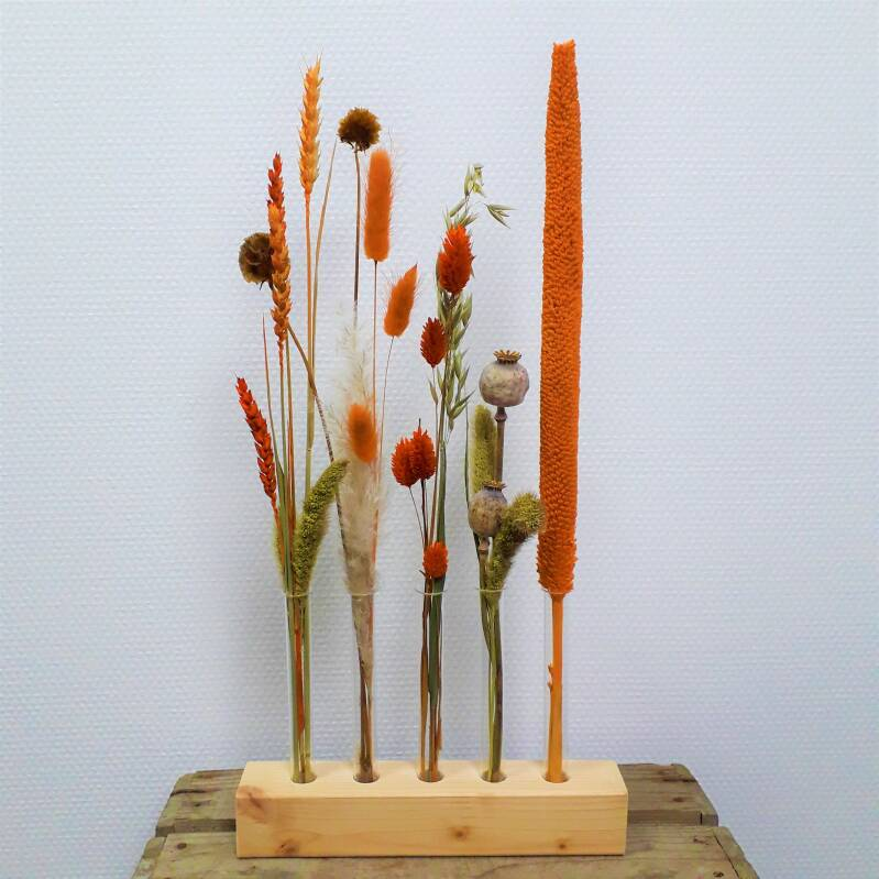 DIY- Dried flower mix - Orange twist