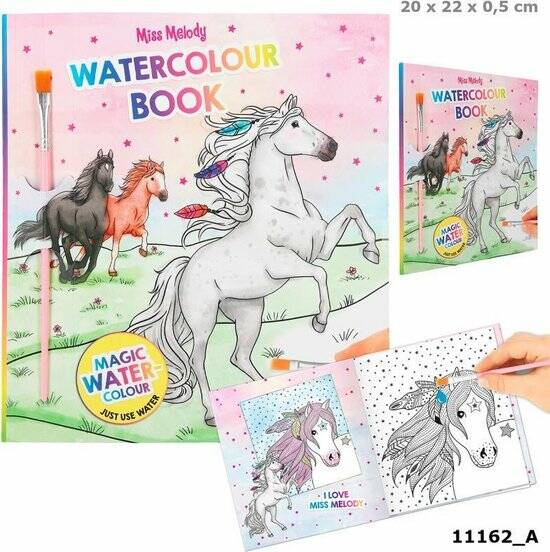 miss melody watercolour book