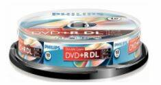 Philips DVD+DL 8,5 GB spindel  10 stuks