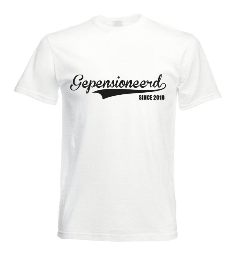 Shirt: Gepensioneerd!