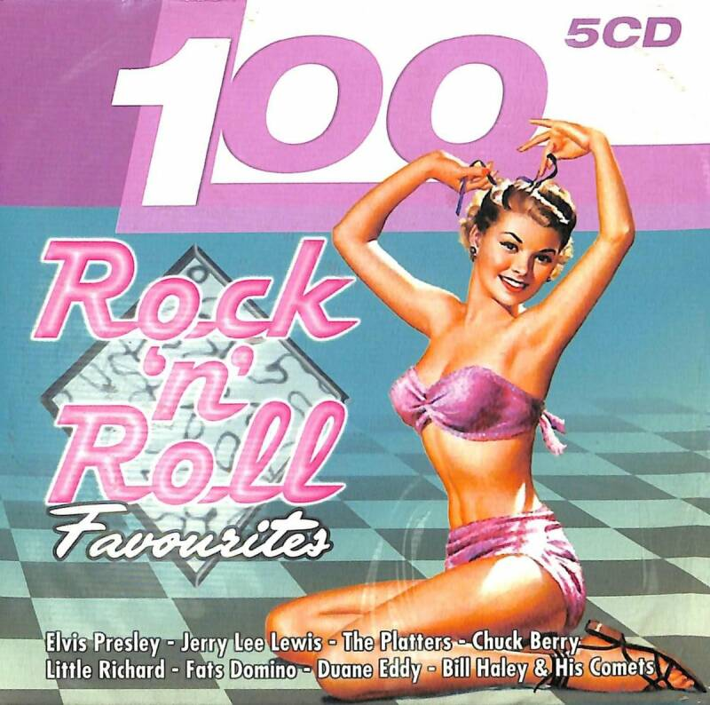 100 Rock 'n' Roll Favourites (5 CD)
