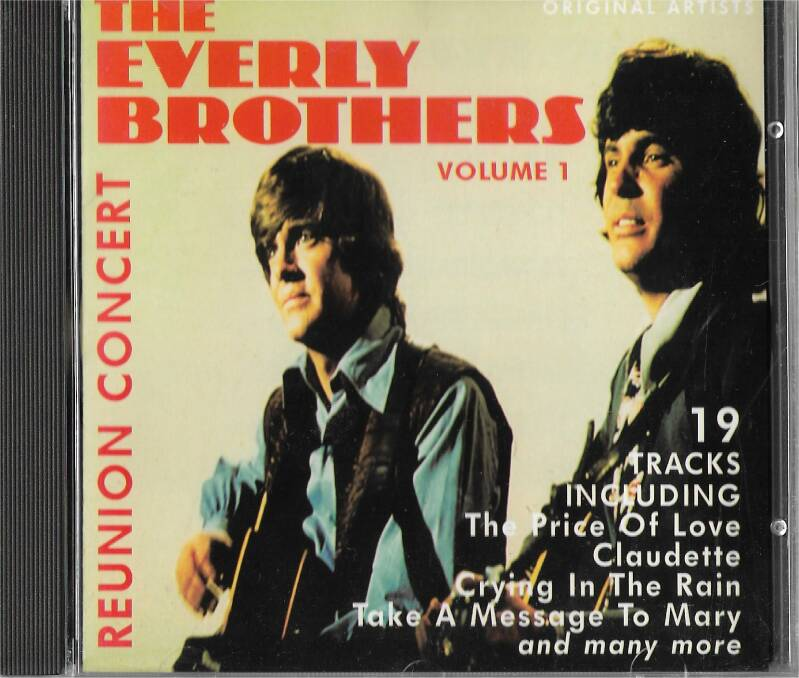 Everly Brothers Reunion Concert Volume 1 + 2