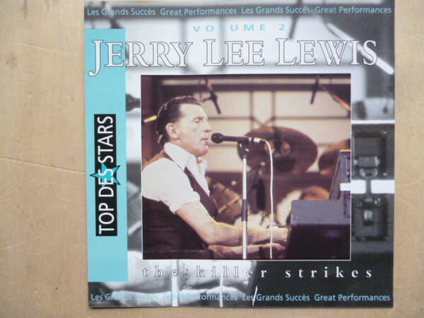 Jerry Lee Lewis ‎– The Killer Strikes