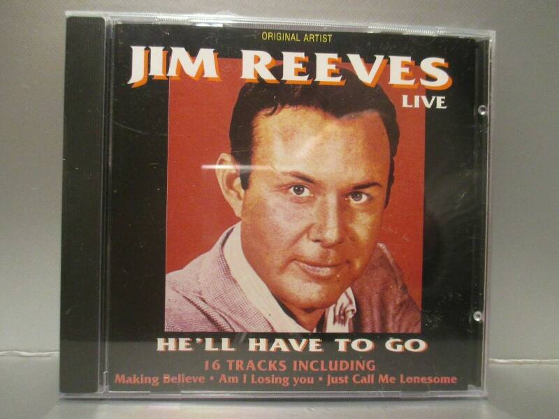 Jim Reeves ‎– He'll Have To Go (live)