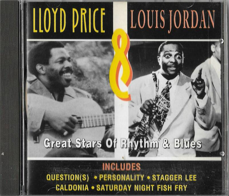 Lloyd Price & Louis Jordan - Great stars of Rhythm &Blues