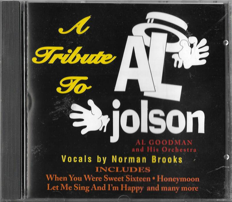 Tribute to Al Jolson - Al Goodman & His Orchestra