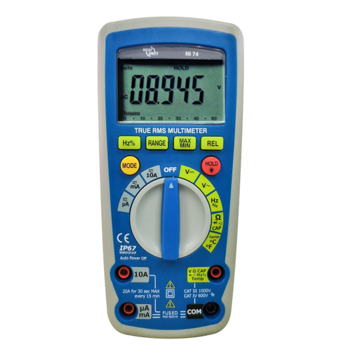 Nieaf-Smitt NI 74 True RMS digitale multimeter