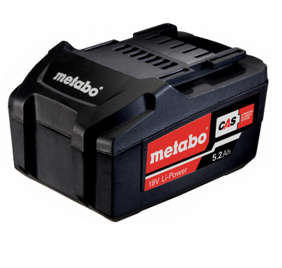 Metabo Accu-pack 18 V, 5,2 Ah, Li-Power (625592000)