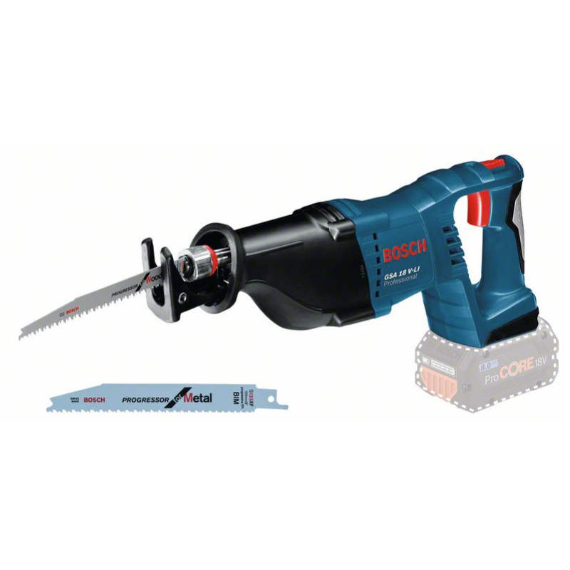 Bosch  GSA 18 V-LI Accureciprozaag Body