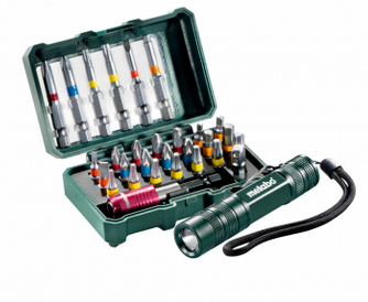 "Metabo Bitbox ""SP"", 29-delig + Mini Flash light (626721000)"
