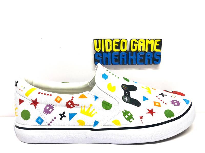 Slip On Video Game Sneaker