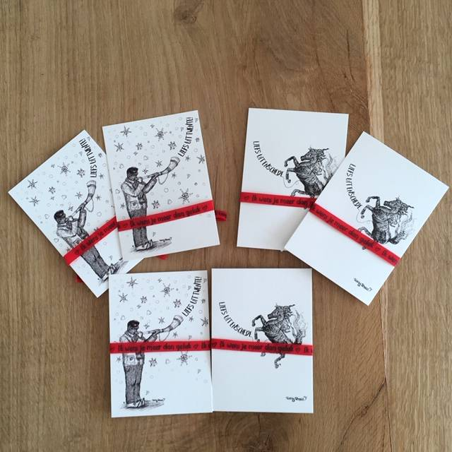 Set of  6 x Twente PostCards A6 (uncoated paper)