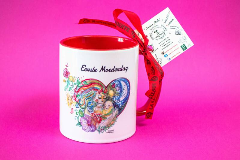Eerste Moederdag  - First Mother's day Mug