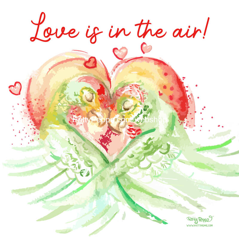Love is in the air ! - 280mmx140mm