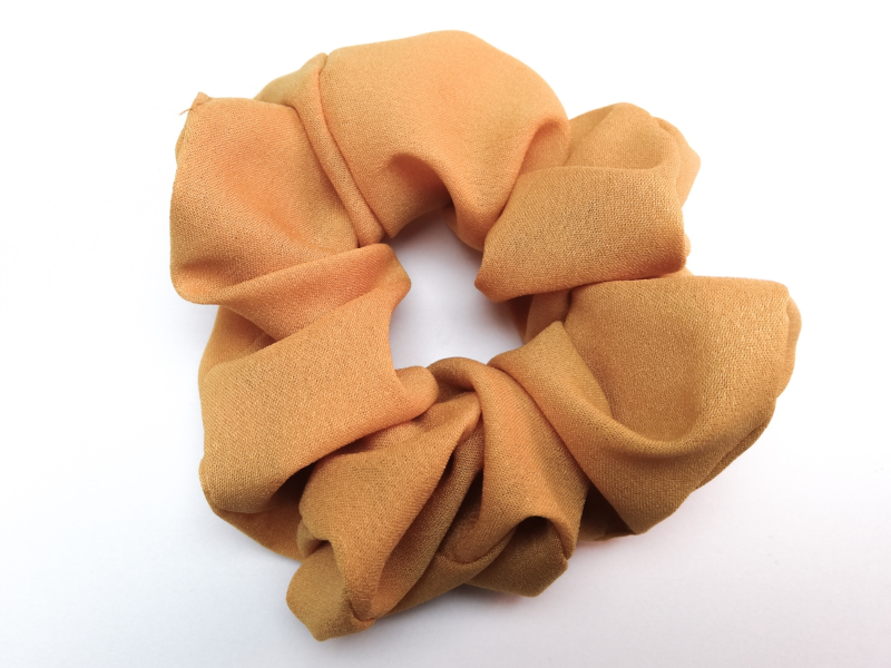 'Yellow' scrunchie