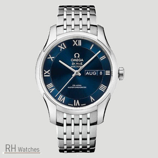 Omega de Ville Hour Vision Co Axial Chronometer annul calender 41mm.
