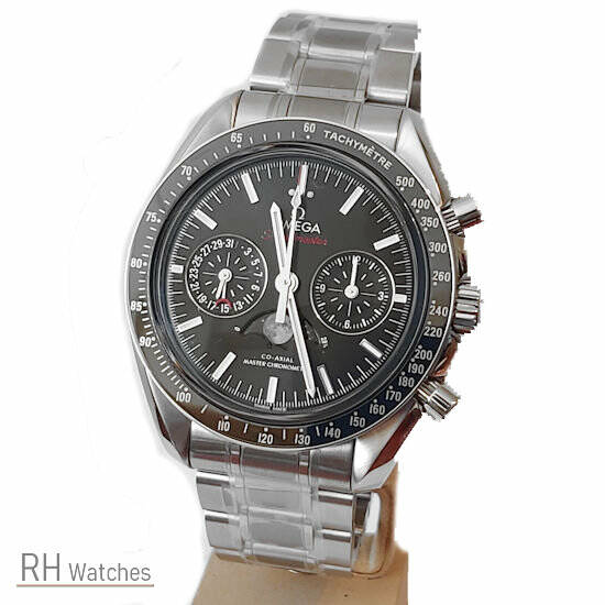 Omega Speedmaster Moonwatch Co-axial chrono Moonphase