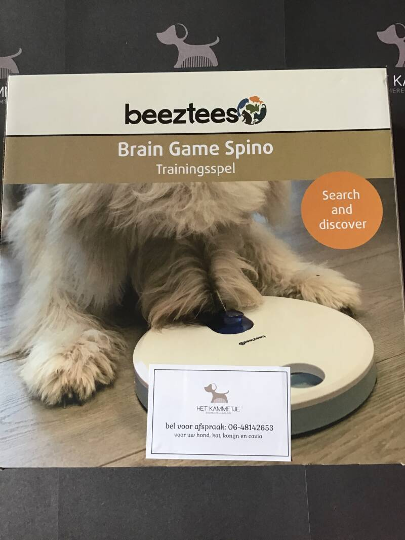 3 + Denkspel Brain Game Spino Beeztees