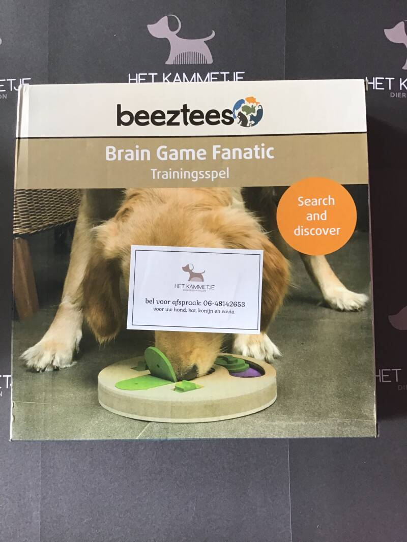 1 denkspel Brain Game Fanatic Beeztees