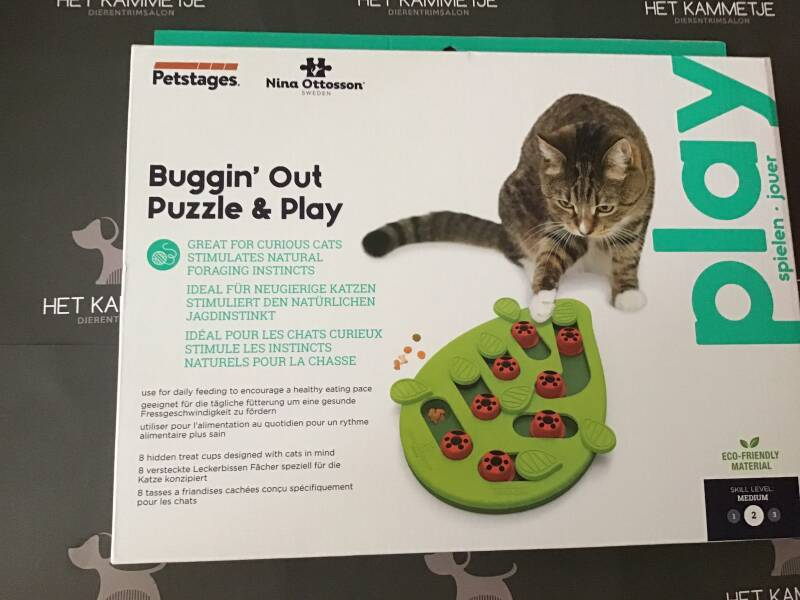 2, 3 en 4 denkspel Buggin OUt Puzzel and play hond. kat en konijn