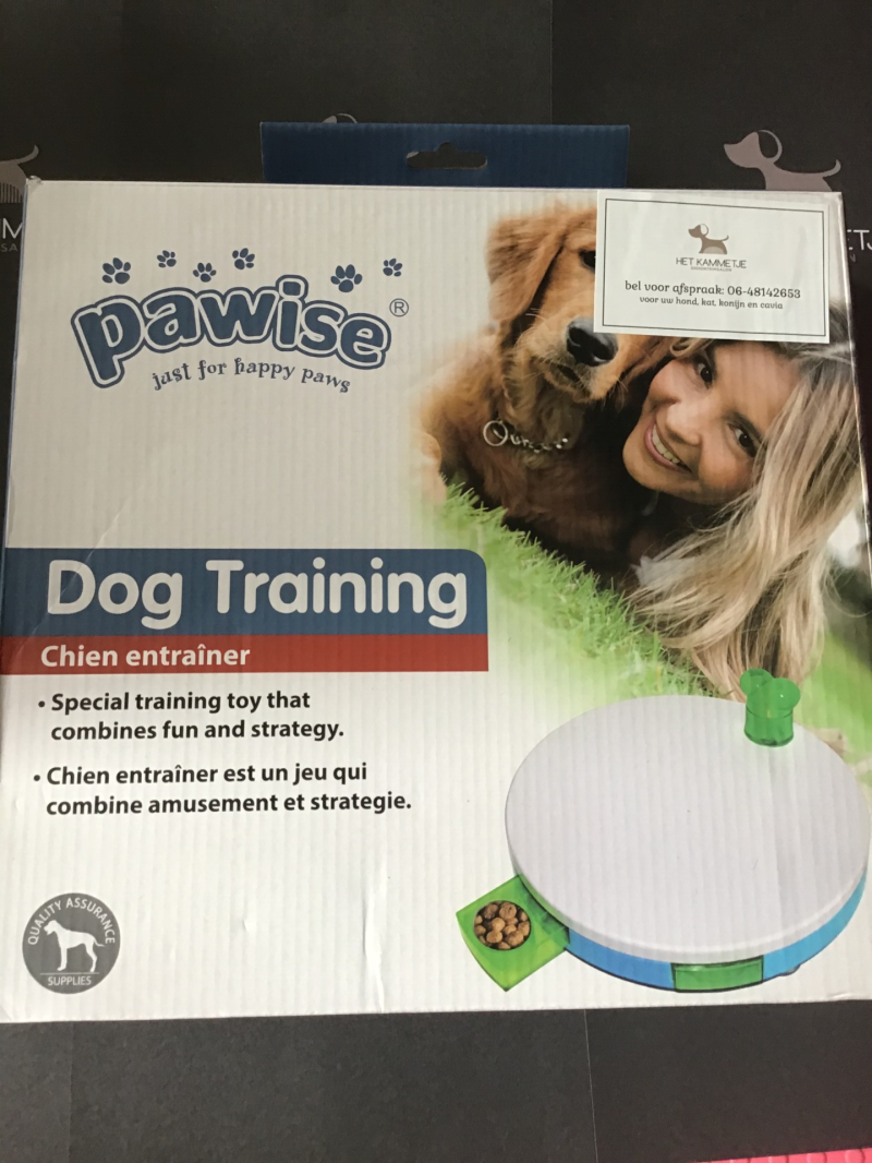 4 + Denkspel Dog training